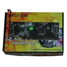 Контроллер  ST-Lab F-171 PCI IEEE 1394b 3 Ports