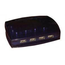 Концентратор 4 портовый USB 1.1 большой с блоком питания